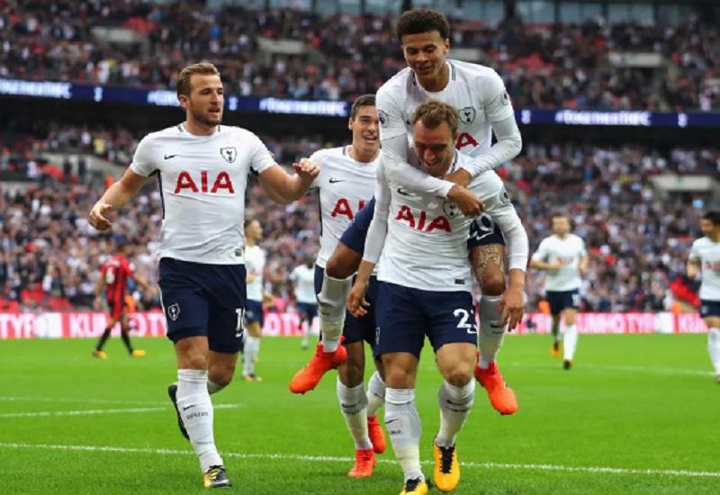 Tottenham Hotspur taklukkan AFC Bournemouth di Stadion Wembley dalam lanjutan Liga Primer, Sabtu (14/10) malam WIB. (Foto: Richard Heathcote/Getty Images)