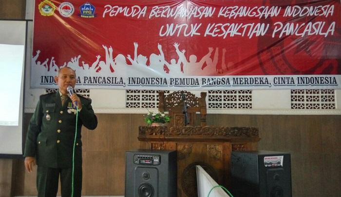 Danramil Patrang Kapten Inf Endro Bawono KH . Foto Sis24/NusantaraNews