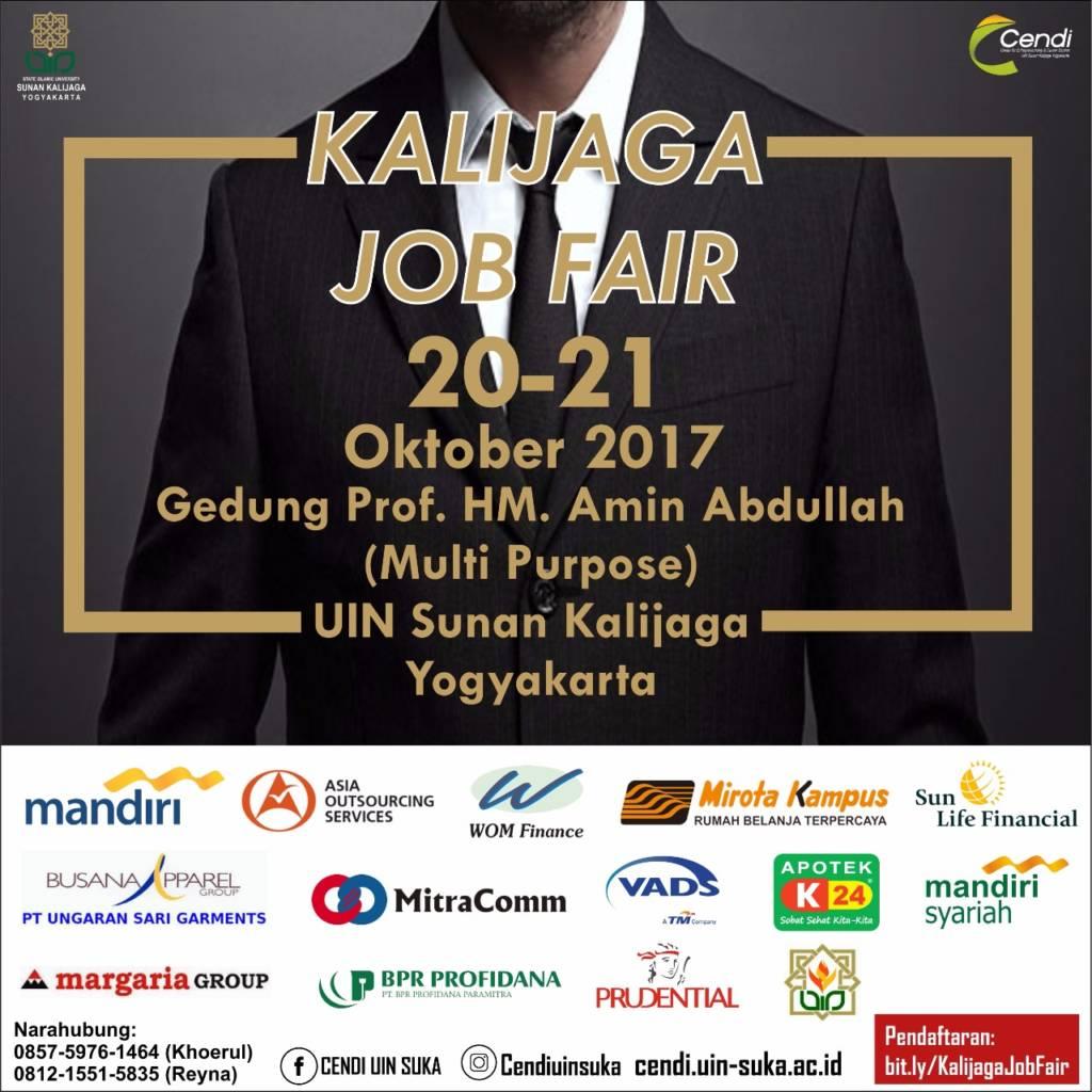 Kalijaga Job Fair 2017. (Foto: Istimewa)