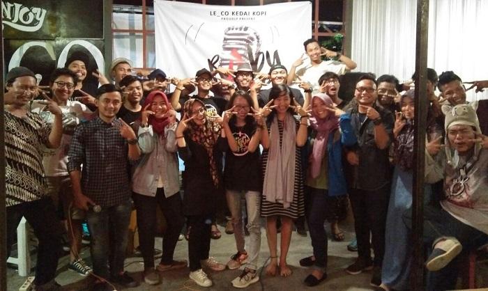 BCCF-Komunitas Omah Sogan Pertemukan Sastra dan Musik di Rabu Melagu Foto: DOk. BCCF/ NusantaraNews