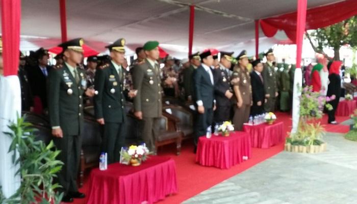 Upacara Hari Sumpah Pemuda ke-89 di Kabupaten Jember. Foto Sis24/ NusantaraNews