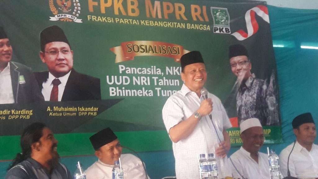 Anggota Komisi I DPR RI Dapil Jawa Timur IV, Syaiful Bahri Anshori. Foto: Ucok Al Ayubbi/NusantaraNews
