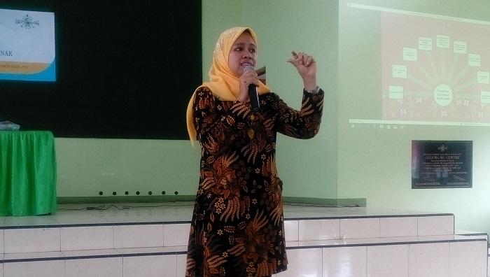 Komisioner Bidang Trafficking dan Eksploitasi Anak Komisioner Perlindungan Anak Indonesia (KPAI), Ai Maryati Sholihah. Foto Nita Nurdiani Putri/ NusantaraNews
