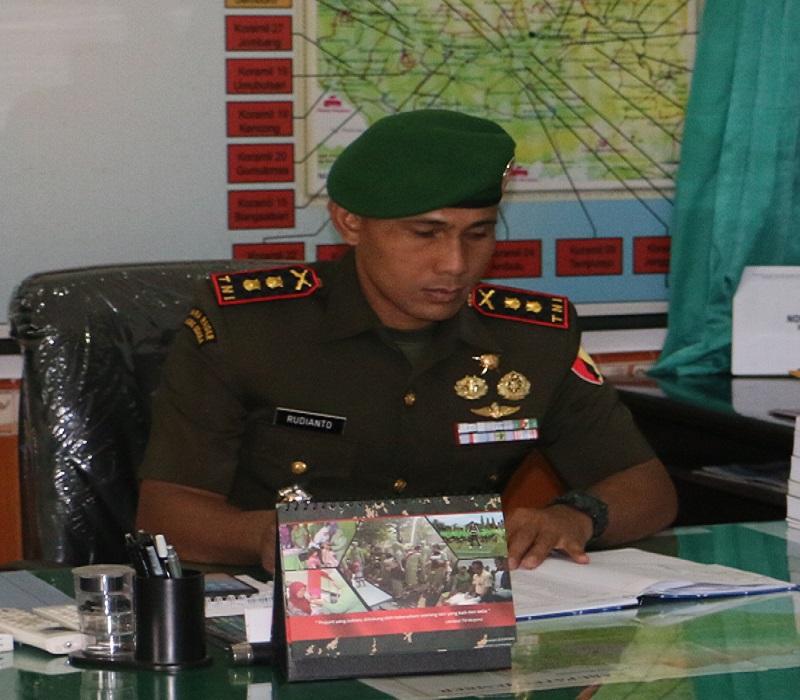 Komandan Kodim 0824 Jember Letkol Inf Rudianto. (Foto: Dok. Kodim Jember/Istimewa)