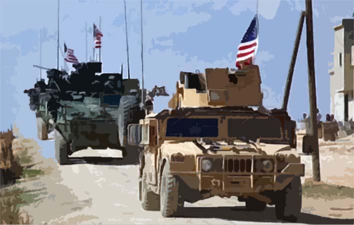 Konvoi Pasukan AS Memasuki Raqqa/Sumber foto cnn