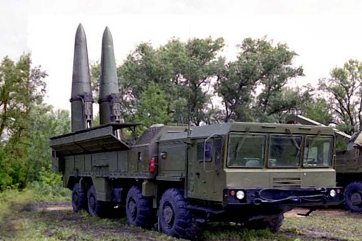 Rudal balastik Rusia, Iskander-M Rusia (Foto: forbidentarget)
