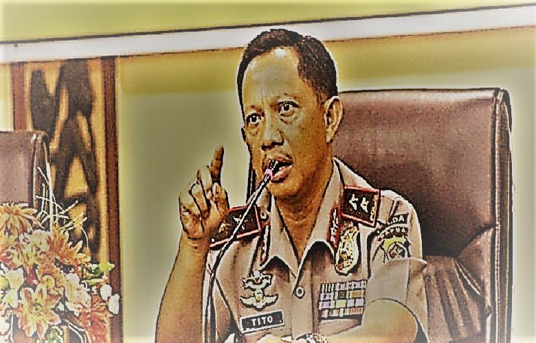 Kepala Kepolsian Republik Indonesia (Kapolri) Jenderal Tito Karnavian. (Foto: NusantarNews/Via Viva)