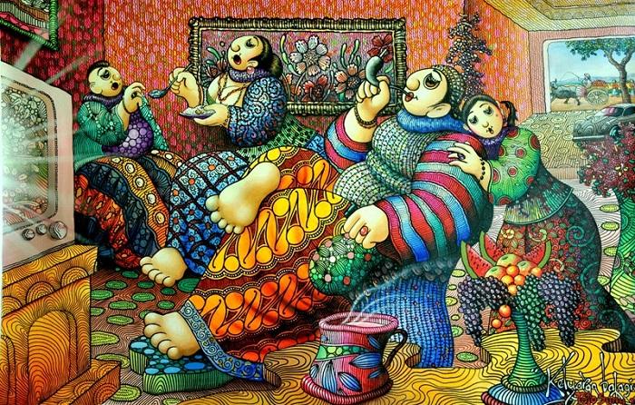 Keluarga Bahagia. Foto: DOk. Sahabat Gallery