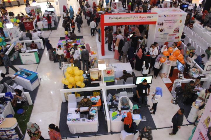 Keuangan Syariah Fair (Foto: Andika/Nusantaranews)
