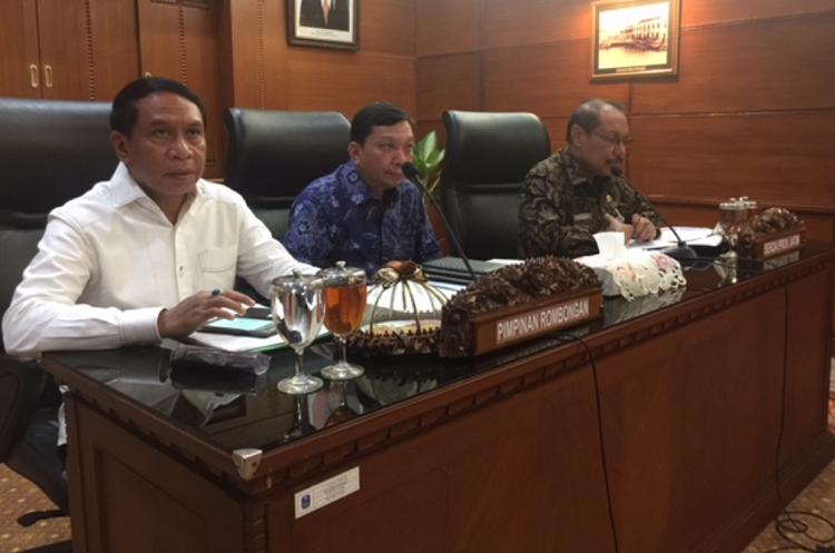 Komisi II DPR RI Cari Masukkan Soal Perppu Ormas ke Jatim (Foto: Tri Wahyudi/Nusantaranews)