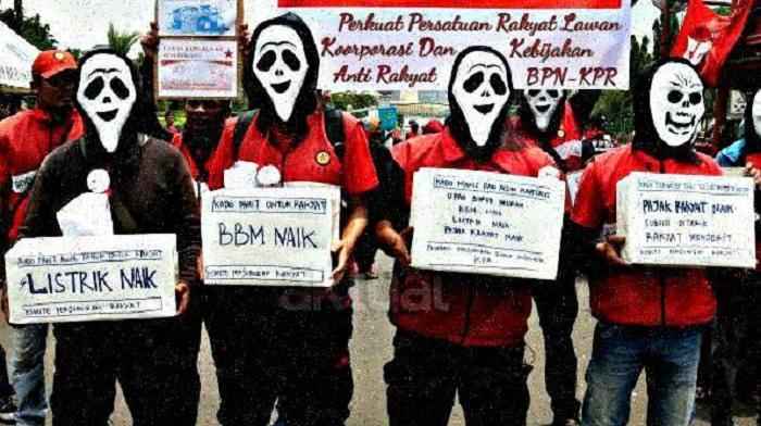 Komite Perjuangan Rakyat sebut Rezim Jokowi lahirkan Kemelaratan Terstruktur. Foto: Dok. Aktual