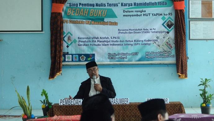 Dosen STAINU Temanggung Hamidulloh Ibda Minta Pelajar Kuasai Literasi Digital Di Era Generasi Z. Foto: Dok. Formaci