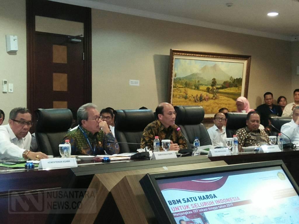 Wakil Menteri ESDM Archandra Tahar mengatakan kebijakan BBM satu harga wujud energi berkeadilan. (Foto: Ricard Andika/NusantarNews)