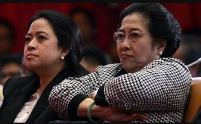 Megawati bersama Puan Maharani (Foto Istimewa)