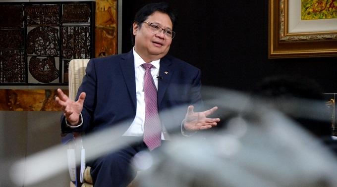 Menteri Perindustrian Airlangga Hartarto. Foto: Dok. Humas Kemenperin