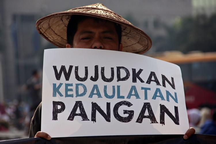 Tuntut Kedaulatan Pangan (Foto Ilustrasi/spi)