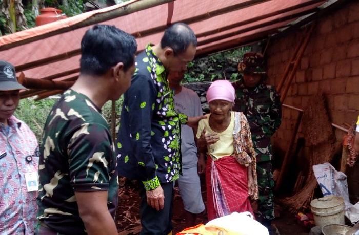 Musiya janda renta mendapat bantuan (Foto Dok. Pribadi/Nusantaranews)