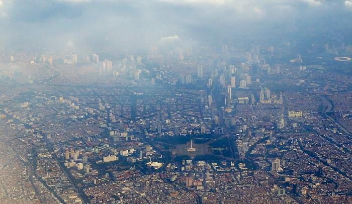 Mutu Udara di Jakarta (Ilustrasi). Foto Aji Wihardandi/Mongabay