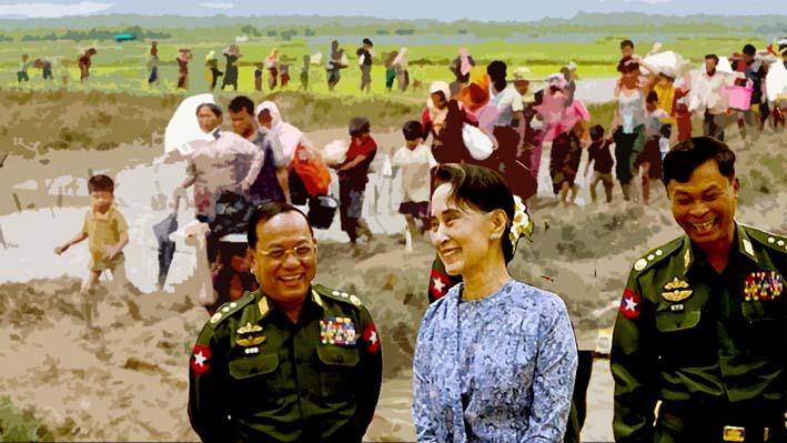 Militer Myanmar Mengakui Bahwa Pasukan Keamanannya Membunuh Orang Rohingya