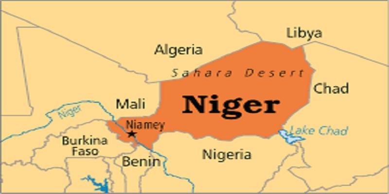 Peta Niger Afrika Barat, tempat tentara AS dan Niger tewas diserang kelompok ekstremis. (Foto: World Operation)