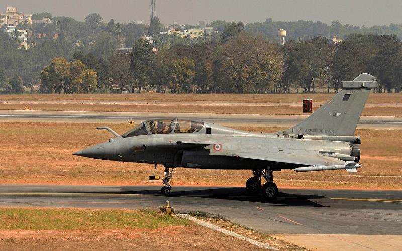 India tempatkan jet tempur Rafale Dassault Aviation di perbatasan India-China dan India-Pakistan. (Foto: AFP/Manjunath Kiran)
