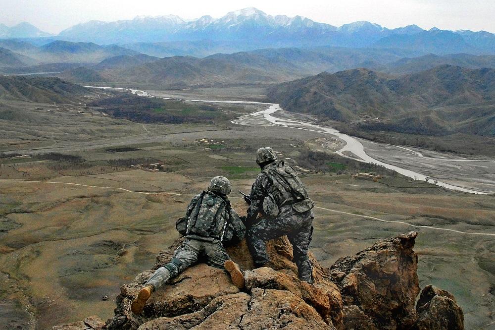 ILUSTRASI: Pasukan AS di Afghanistan. (Foto: Staff Sgt. Adam Mancini)