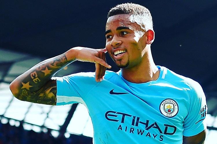 Pemain Manchester City Gabriel Jesus (Foto Getty)
