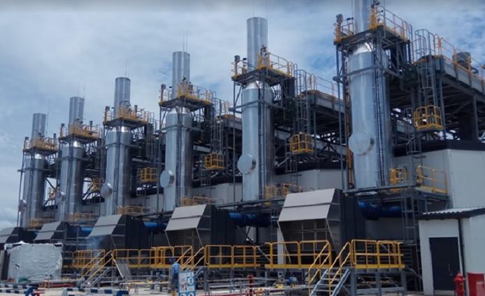 Enam Mesin PLTMG (Pembangkit Listrik Tenaga Mesin Gas) Jayapura, Papua. Foto Istimewa/ NusantaraNews