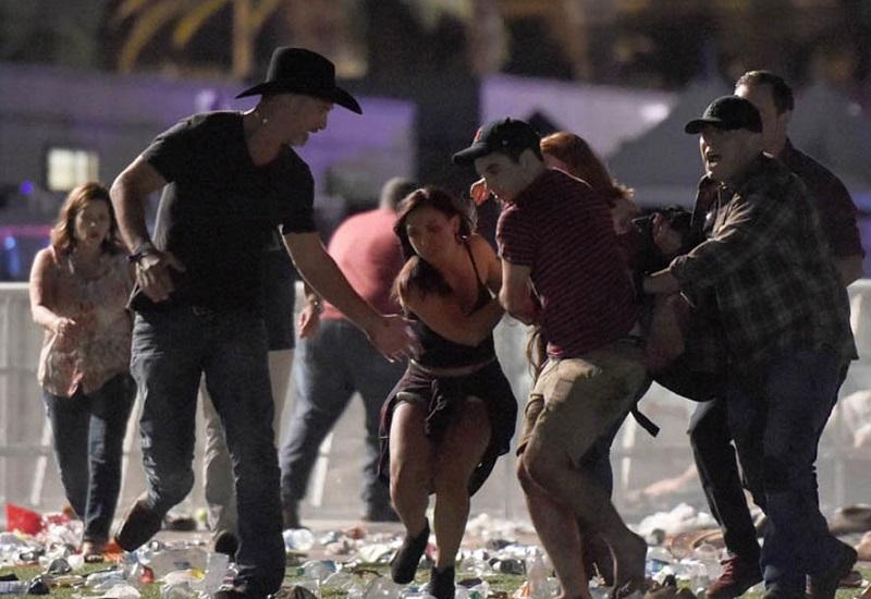 Para korban penembakan di Las Vegas. (Foto: Getty)