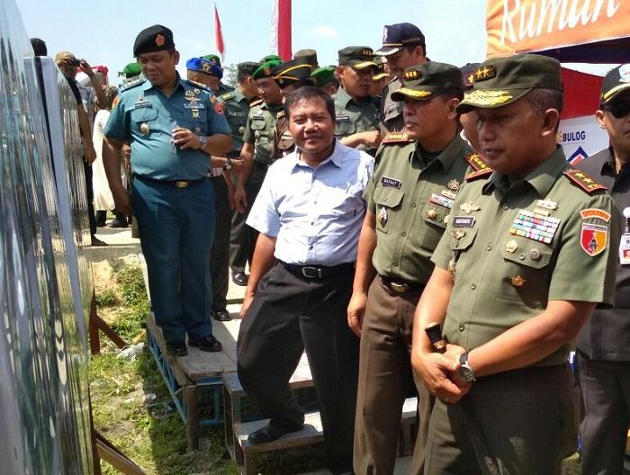 Penutupan TMMD ke-100 di Bojonogoro (Foto Penrem/Nusantaranews)