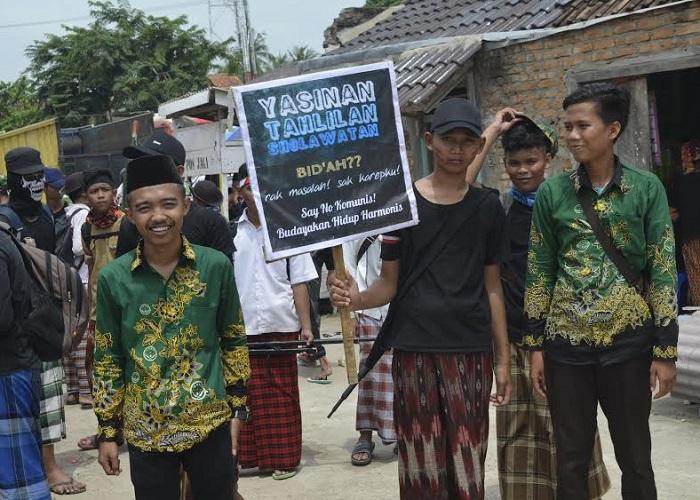Peringan Hari Santri Nasional di OKU Timur Sumsel (Foto: Efendi/Nusantaranews)