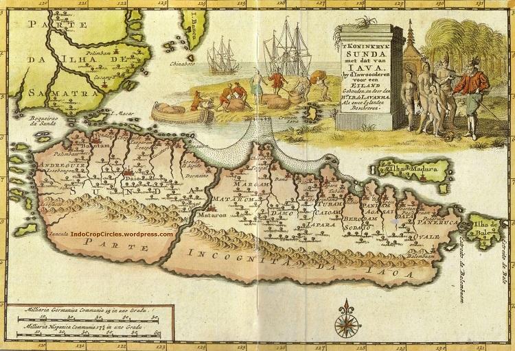 Peta Jawa Abad 18 (Foto Istimewa)
