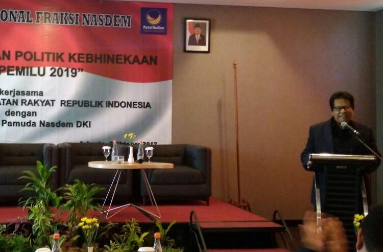 Politisi Nasdem, Bachtiar Ali (Foto: Ucok Al/Nusantaranews)