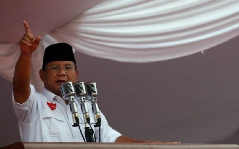 Ketua Umum Partai Gerinda Prabowo Subianto diminta agar segera bicara ke hadapan publik terkait persoalan bangsa dan negara. (Foto: Istimewa/NET)