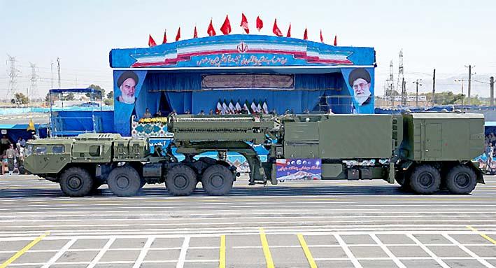 Rudal Balistik Terbaru Iran/AP Photo/Ebrahim Noroozi