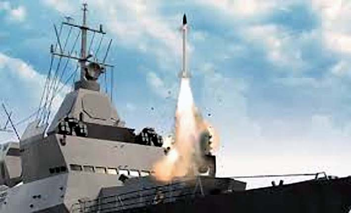 Rudal Barak-8 India Versi Maritim/Foto Indians Defense