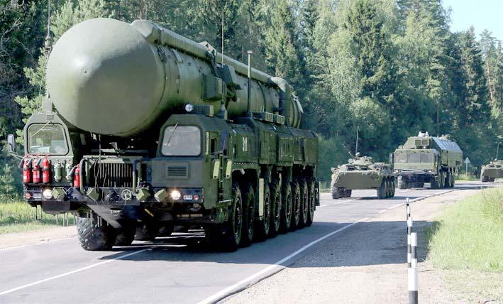 Pasukan Rudal Strategis Rusia/Foto Sputnik/ Vadim Savitskii