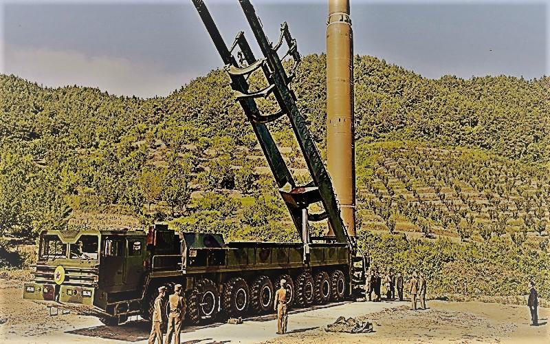 Senjata rudal balistik Korea Utara. (Foto: Reuters/KCNA)