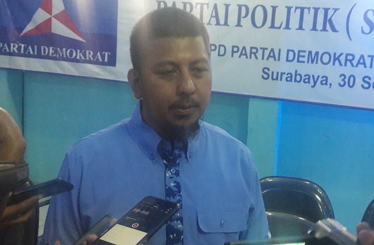 Sekertaris DPD Partai Demokrat Jatim (Foto: Tri Wahyudi/Nusantaranews)