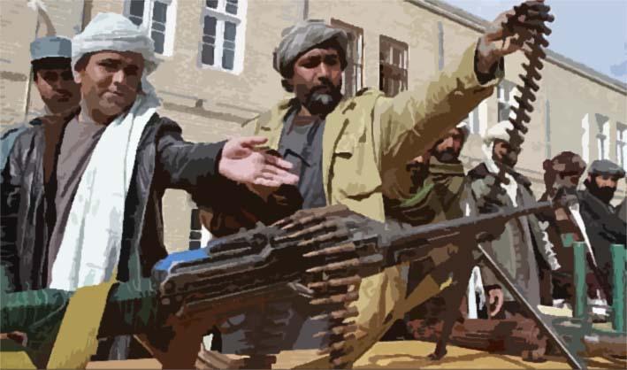 Ilustrasi Senjata Taliban di Afghanistan/sumber gambar CBC.ca