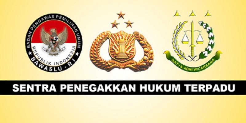 Sentra Penegakkan Hukum Terpadu (Sentra Gakkumdu). (Foto: Istimewa)