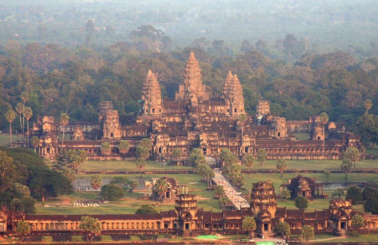 Situs Angkor Wat di Kamboja (Foto via ArchDaily)