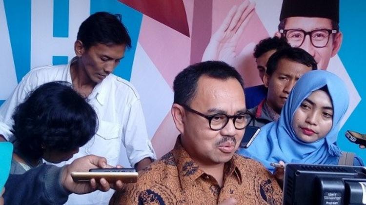 Ketua Tim Sinkronisasi Anies-Sandi, Sudirman Said (Foto Andika Nusantaranews)
