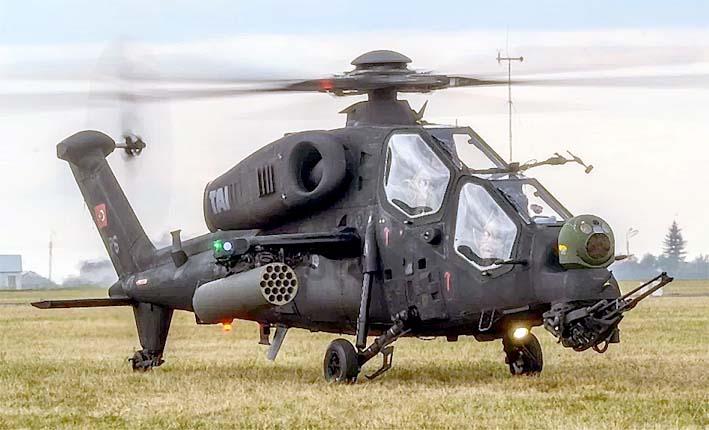 Helikopter Tempur T-129 Turki/Foto: defenceupdate