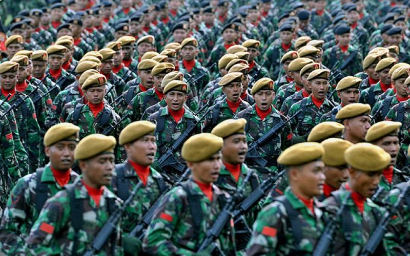 Tentara Nasional Indonesia (TNI) berbeda dengan Polisi. (Foto: Antara)