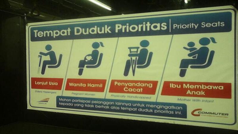 ILUSTRASI: Transportasi umum. (Foto: Twitter)
