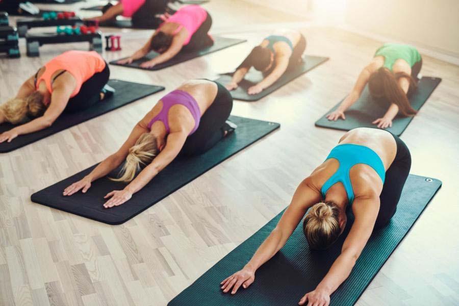 Ilustrasi Kelas Yoga/Foto standard.co