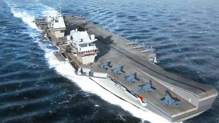 Militer Inggris mempersiapkan pengerahan kapal induk terbaru Angkatan Laut, HMS Ratu ElizabethPerang Dunia ke III. Foto: Dok. ukdefencejournal.org.uk
