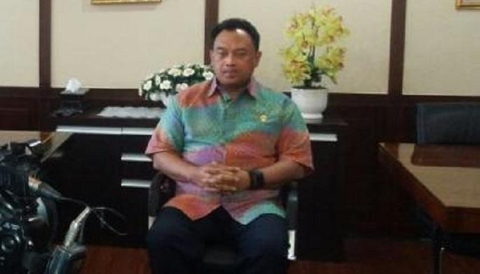 Direktur Jenderal Pembinaan Pengawasan Ketenagakerjaan dan Keselamatan dan Kesehatan Kerja (PPK dan K3) Kementerian Ketenagakerjaan RI (Kemnaker) Sugeng Priyanto. Foto: Dok. Humas Kemnaker