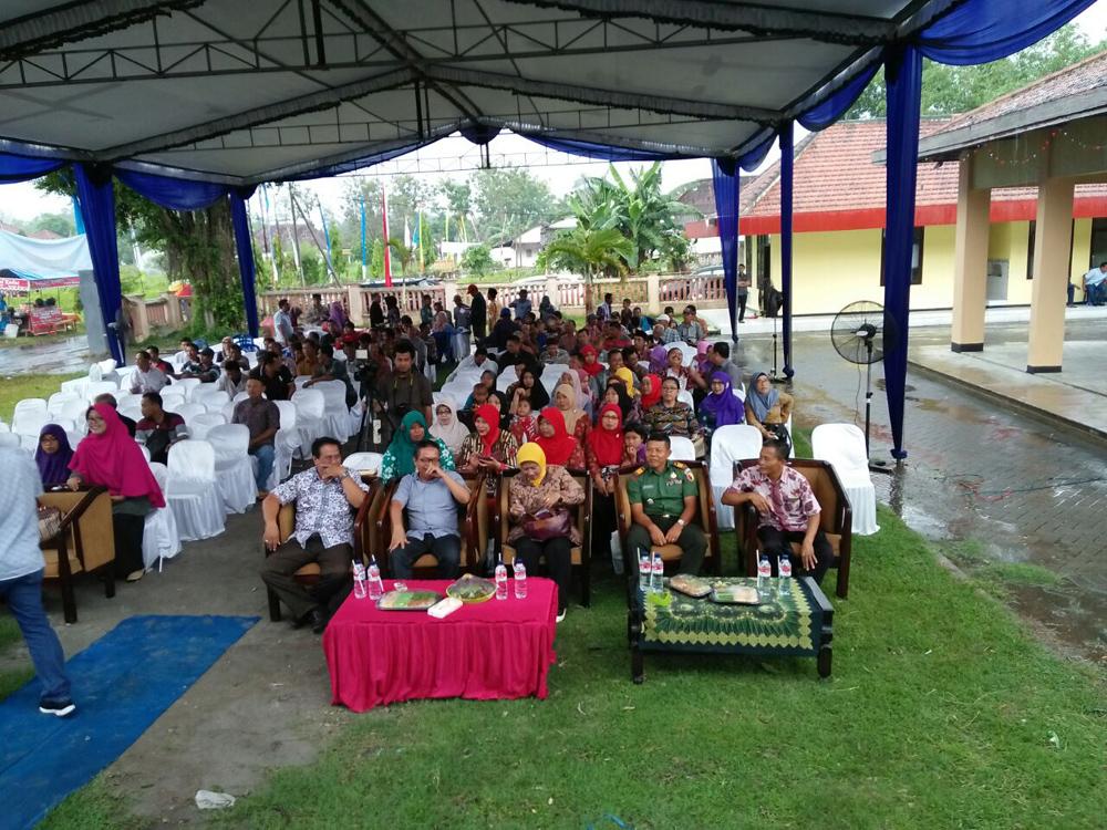 Launching Kampung KB di Kediri pada Kamis (23/11/2017). Foto: Dok. Penrem